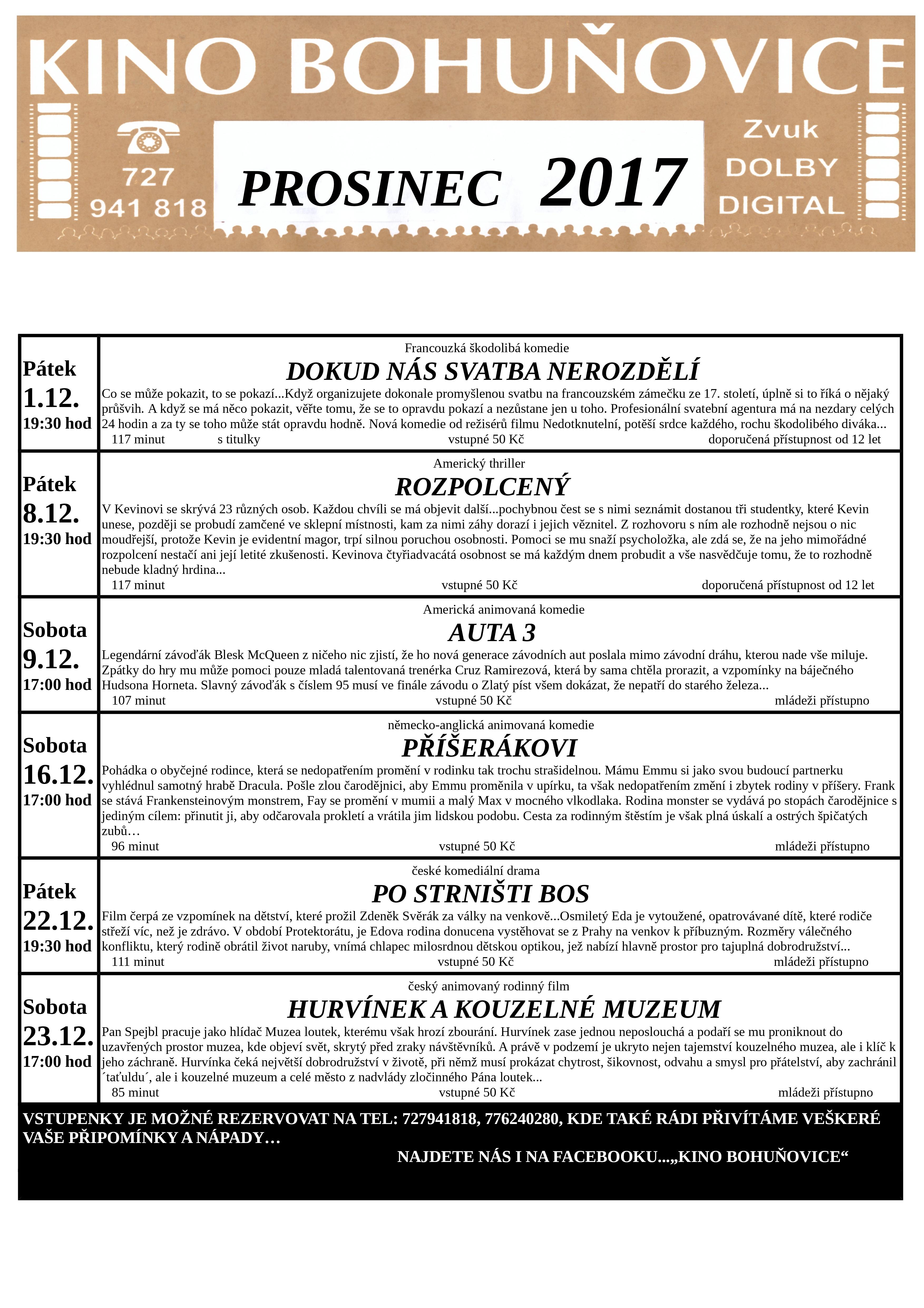 PROSINEC 2017